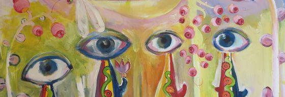 ögon, många