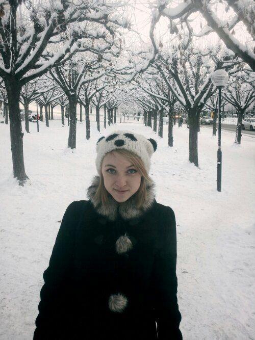 Rita i snö