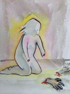 akvarell av Ganga