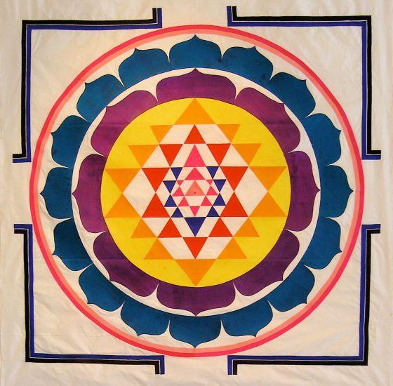 Sri Chakra, människans energisystem - och Universum