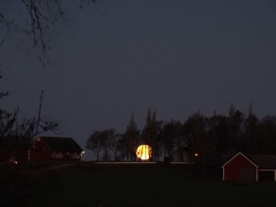 Månnedgång