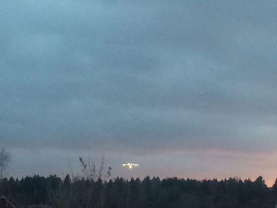 UFO, nej flyget