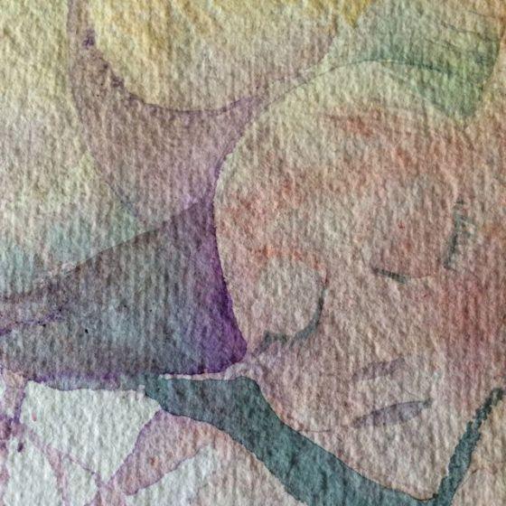 akvarell, detalj, by Ganga