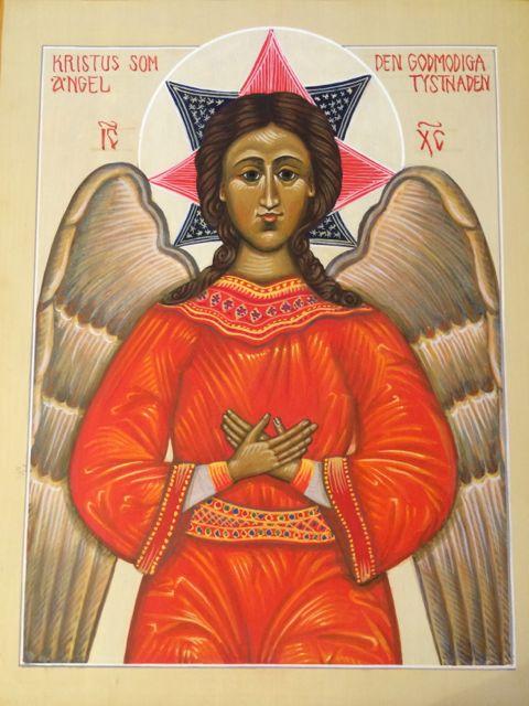 Den godmodiga tystnadens Ängel, IKON