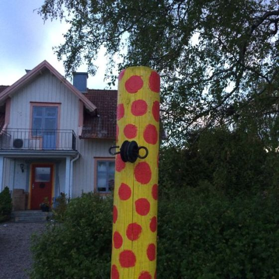 prickig stolpe