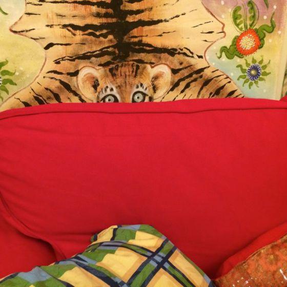 soffa o tiger