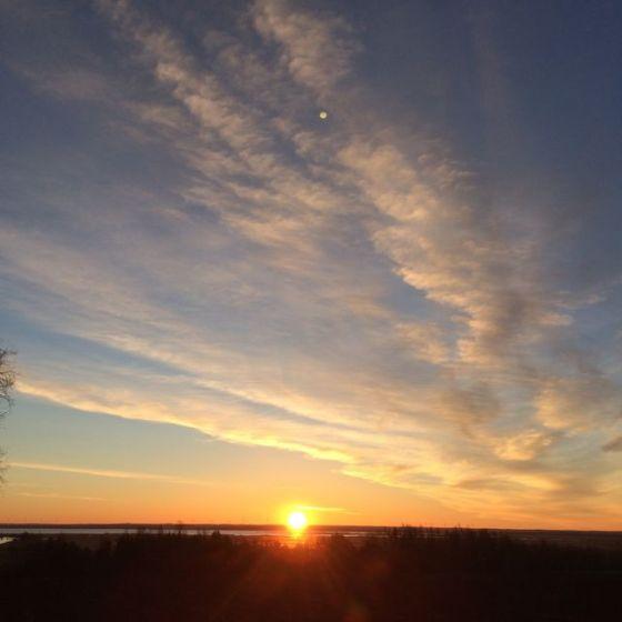 solen upp
