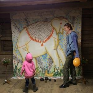 vita elefanten, hästholmen