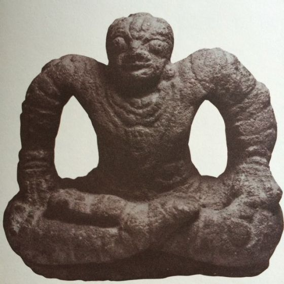 yogaskulptur, medeltid