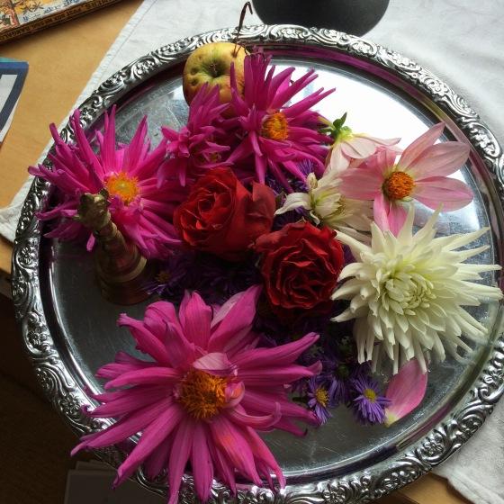 blommor till offringar