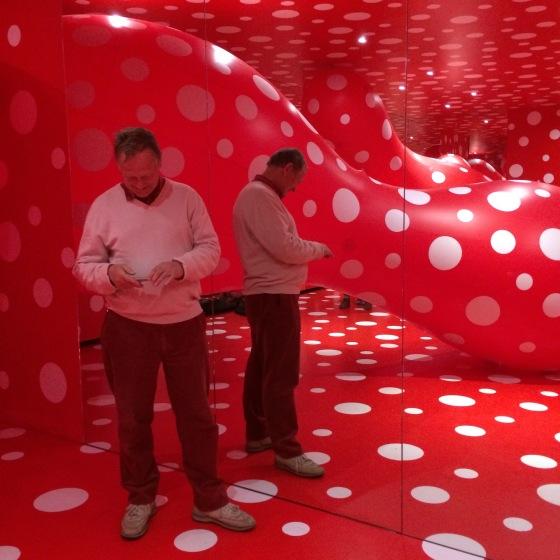 Röda rummet,Yayoi Kusama