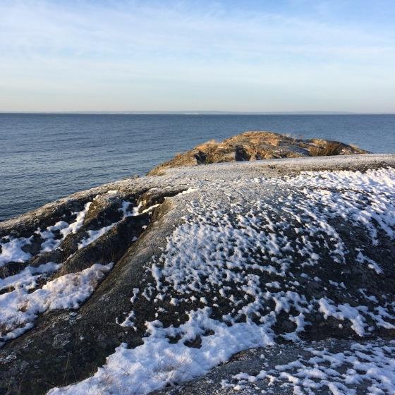 klippor vid Vättern