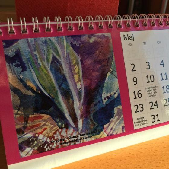 Kalender, fittkonst, Ganga