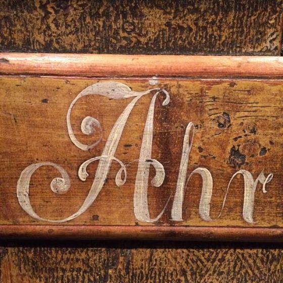 """""""ÅR"""" vackra bokstäver"""