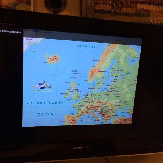 Europakarta, healing