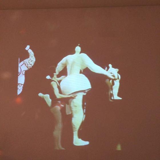 Balett med Niki de Saint Phalle´s skulpturer