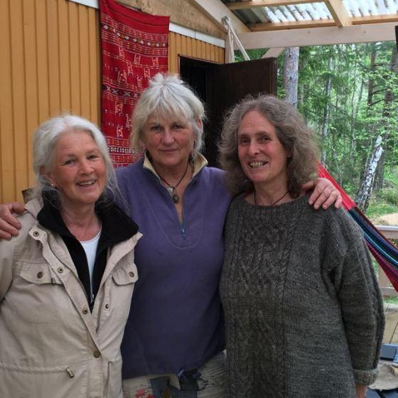 Vivianne, Kerstin och Karin