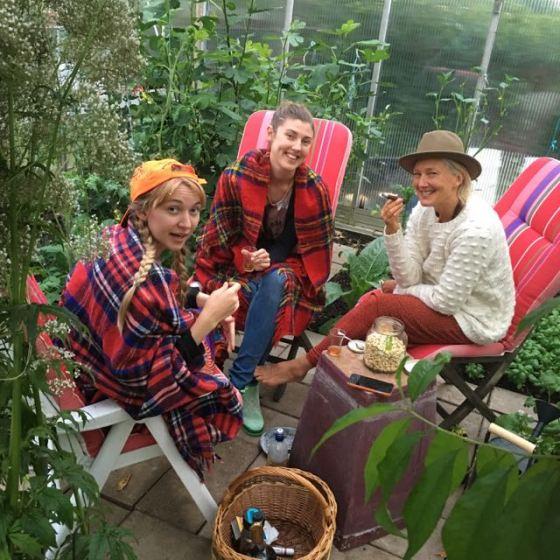 trädgårdsröka