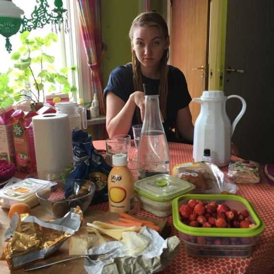 frukost med Rita