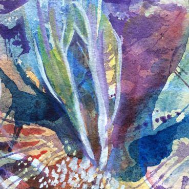 Kryddig, akvarell, av Ganga