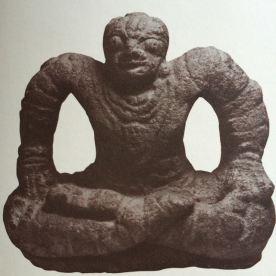 Yogi - skulptur