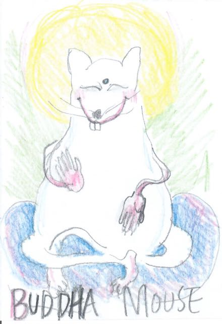 Buddha mouse