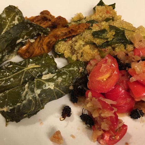 Vegansk middag