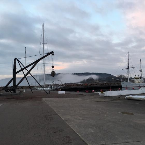 Dimma på Omberg