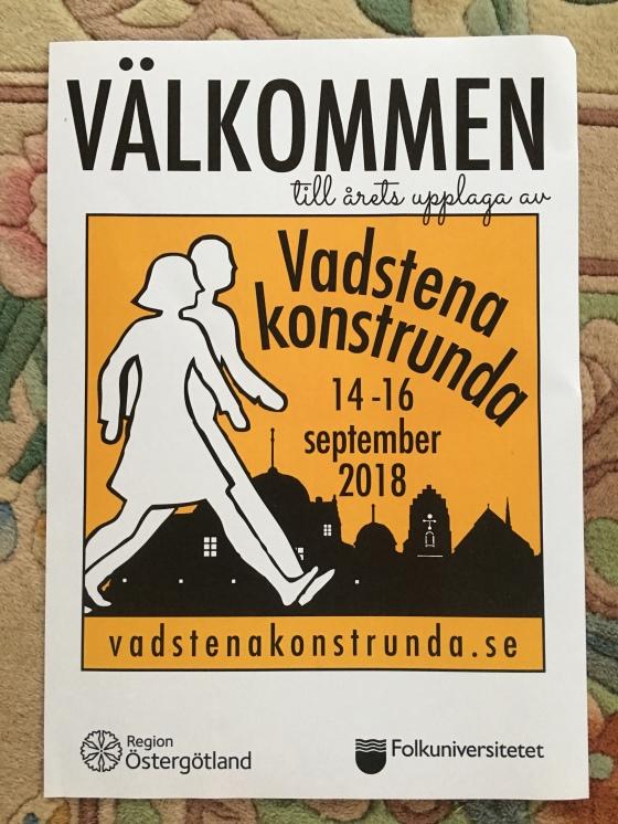 Konstrunda i Vadstena 2018