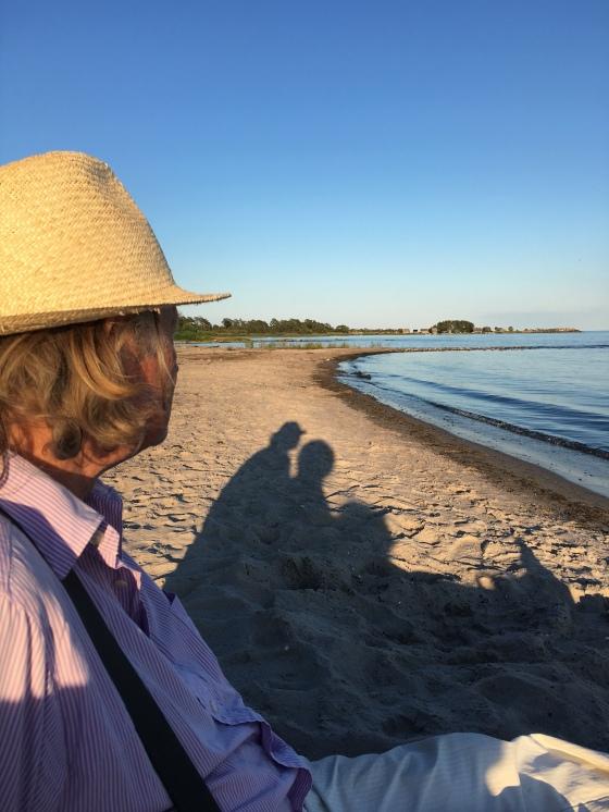 Rurik på stranden