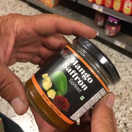 Burk mango-saffran