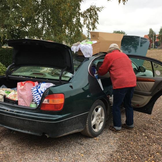 Bilpackning