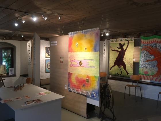 Utställning, Vadstena konstrunda, ganga, Rurik