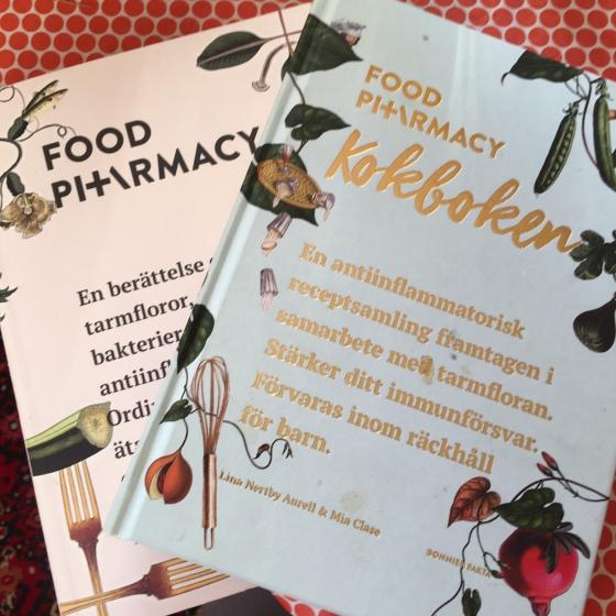 Böcker, foodfarmacy
