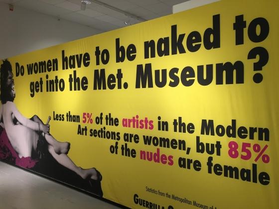 Affisch, Guerilla Girls