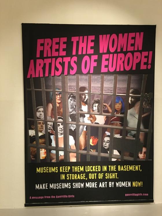 Affisch, kvinnlig konst