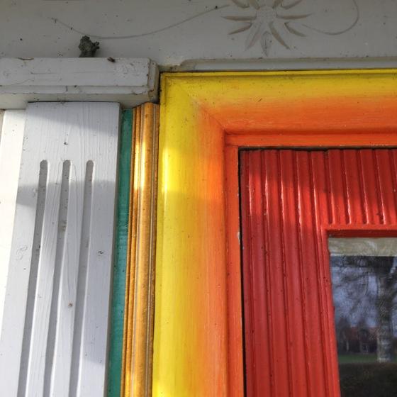 extra ordinärt vacker dörr