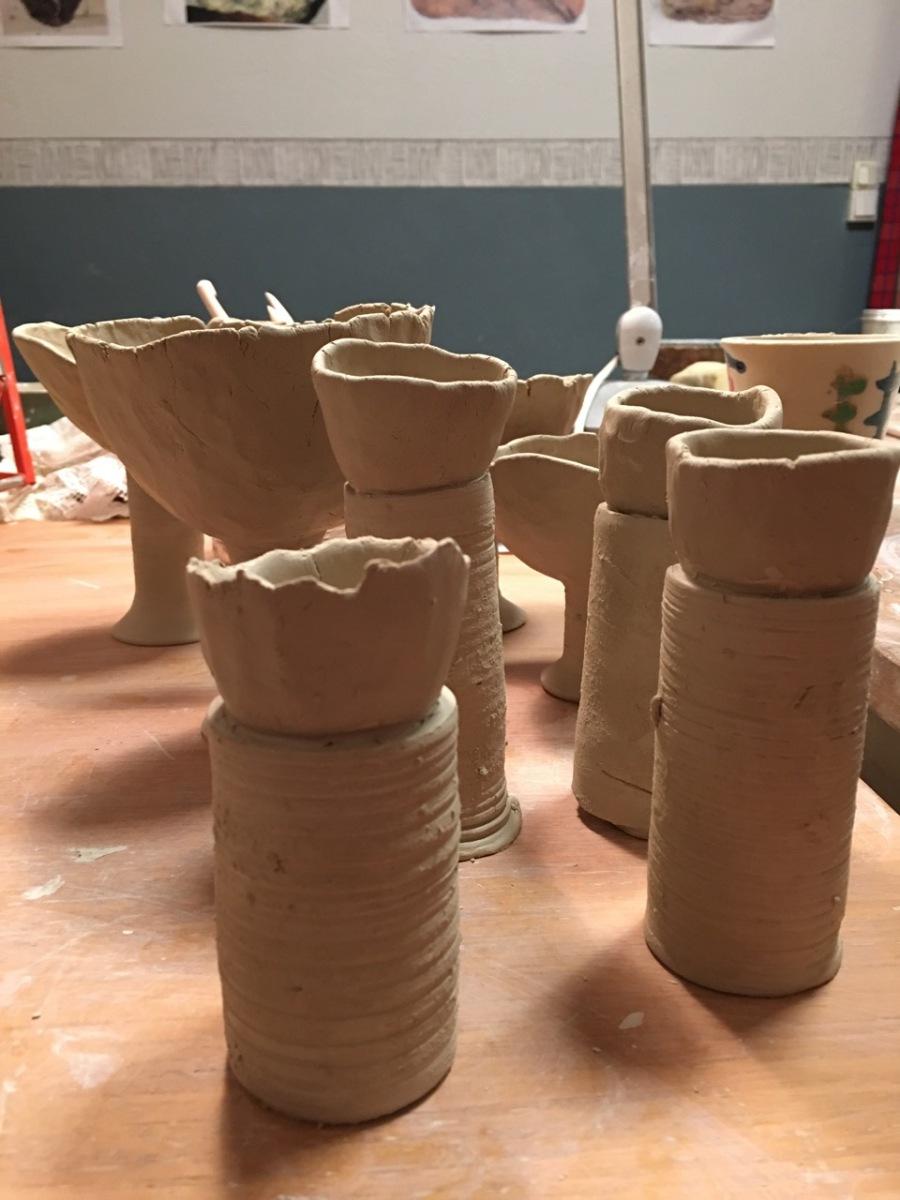 Keramik av Ganga
