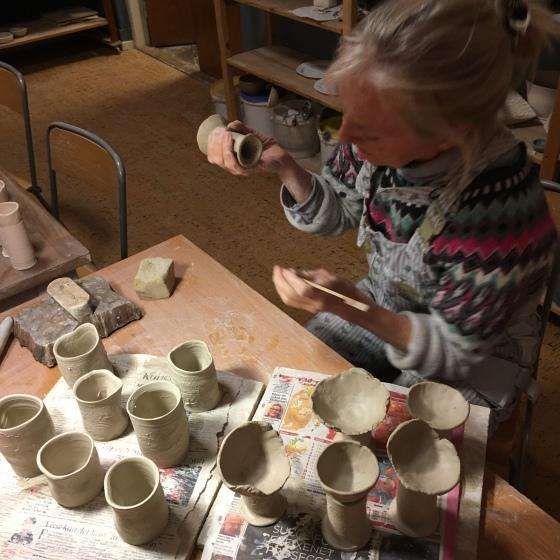 Ganga i keramiken