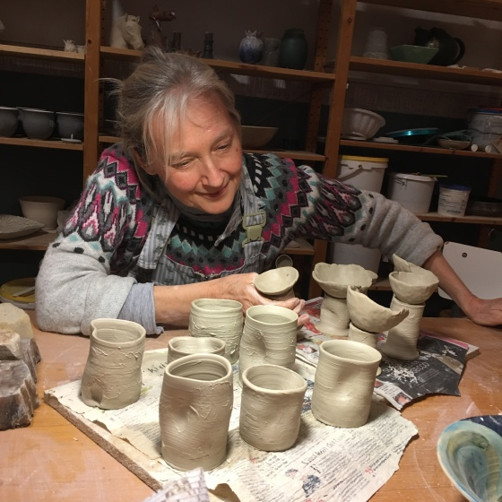 Ganga, keramik
