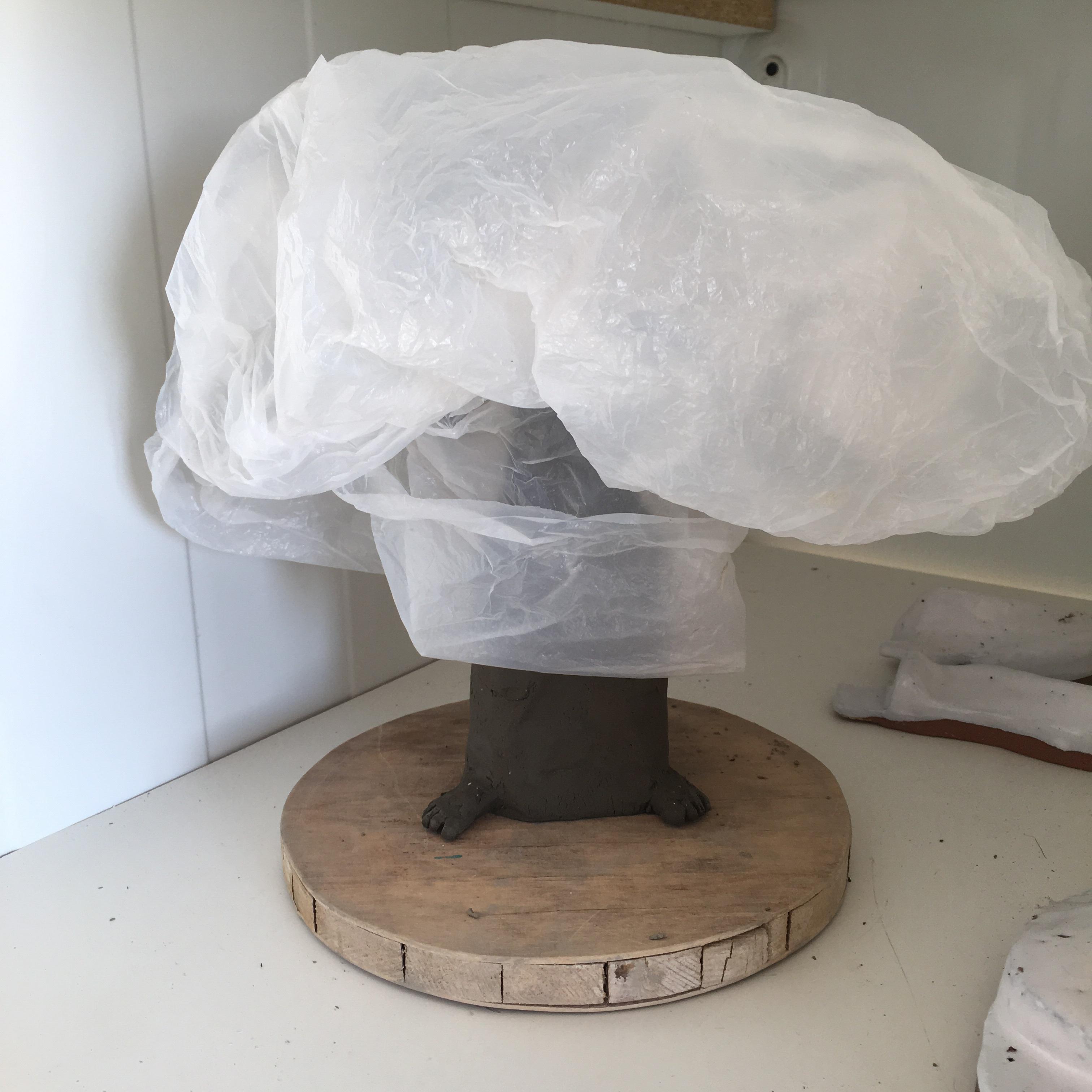 Torkning av skulptur
