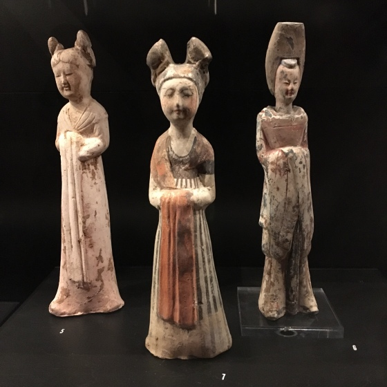 Figurer, japanska, keramik