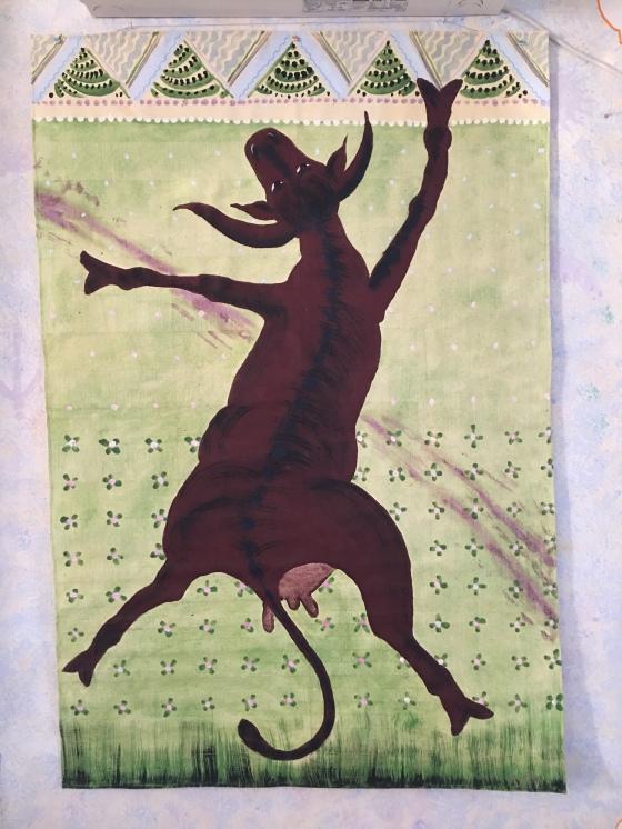 Dansande ko, av Rurik