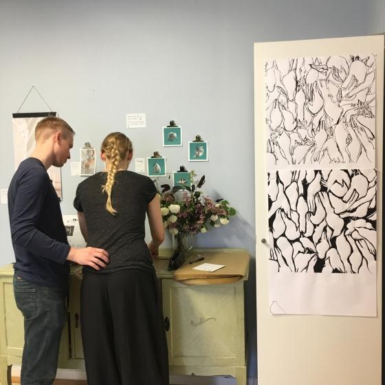 Rita och Marcus, utställning