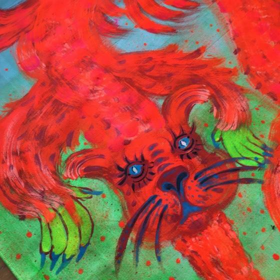 Detalj röd drake av Rurik