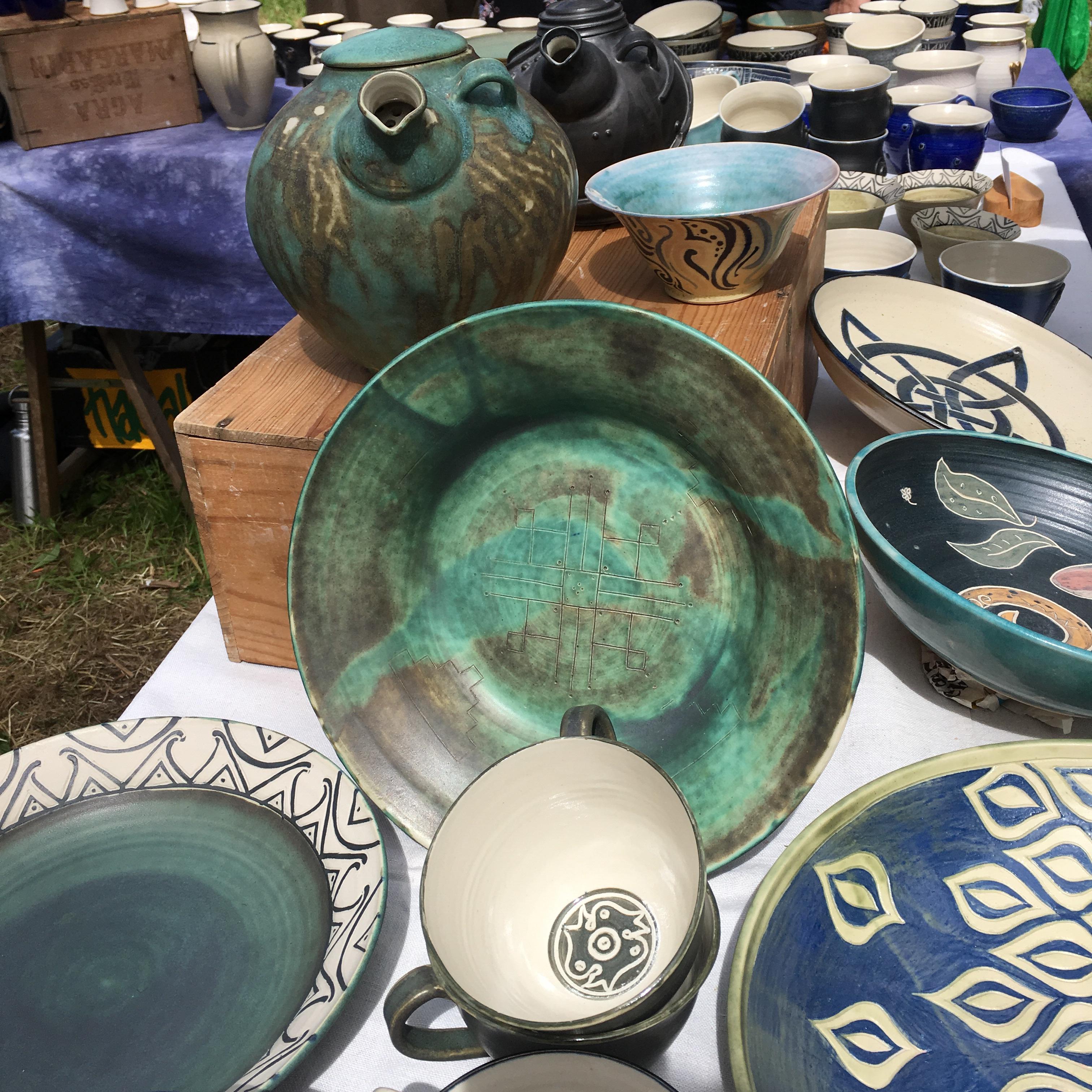 Keramik, Karin Langhart