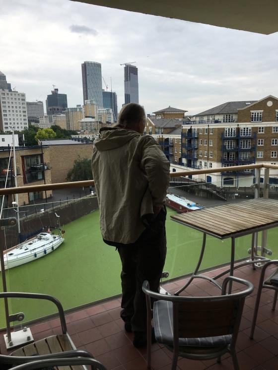 På balkongen, Limehouse