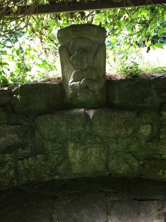 Bänk för meditation, Chalice Well