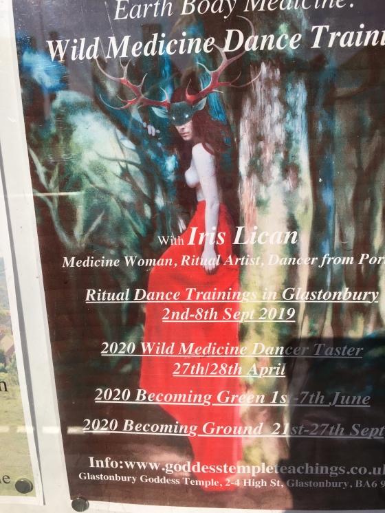 Affisch, ritual dance