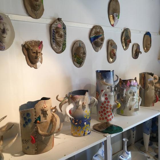 Lasse Frisk, keramik